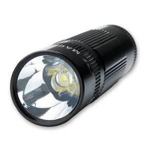 Die Mag-Lite XL200 LED-Taschenlampe von vorne