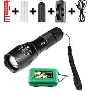 LED Taschenlampe - super hell und hochleistungs Cree Led